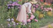 """Cuộc sống như mơ của cô gái """"bỏ bộn bề thành phố"""" về quê làm vườn trồng hoa"""