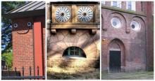 Ấn tượng những ngôi nhà 'mặt cười'