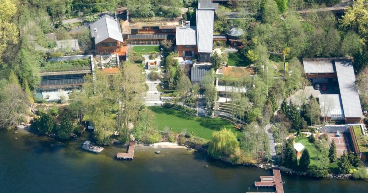 Bí mật không ngờ bên trong ngôi nhà mất 7 năm mới xây xong của Bill Gates