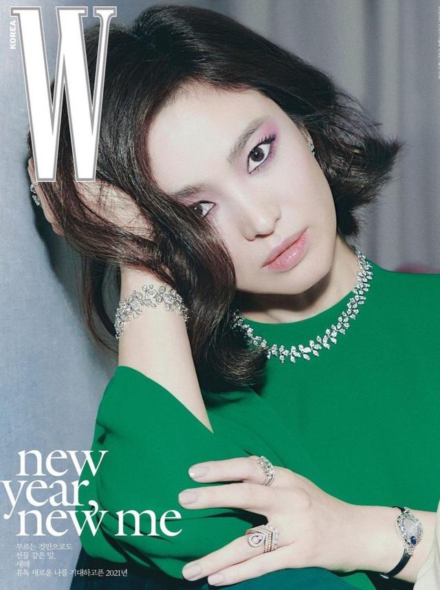 Song Hye Kyo xinh đẹp đón năm mới, tiết lộ người ảnh hưởng nhất - 1