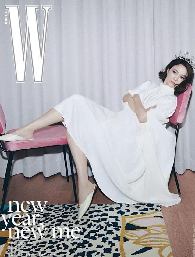 Song Hye Kyo xinh đẹp đón năm mới, tiết lộ người ảnh hưởng nhất - 3