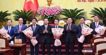 Thủ tướng phê chuẩn 5 Phó Chủ tịch UBND TP Hà Nội