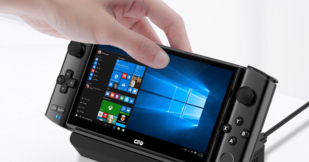Độc đáo máy tính chạy Windows 10 với thiết kế nhỏ gọn giống smartphone