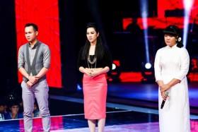 liveshow 2 the voice doi hong nhung quoc trung bung no
