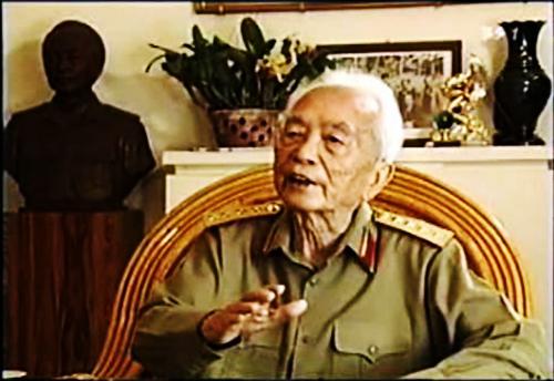 Những thước phim quý về Đại tướng Võ Nguyên Giáp