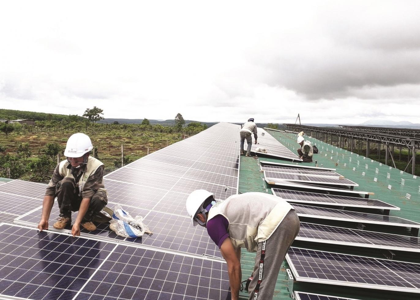 Pin mặt trời Việt Nam bị điều tra lẩn tránh thương mại?