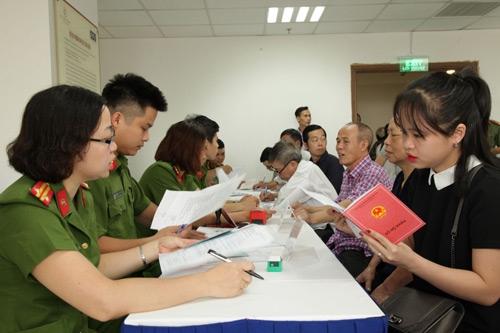 Công an TP Hà Nội: Đảm bảo thông tin công dân