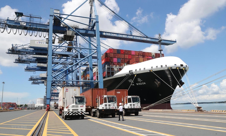 Hàng hóa xuất khẩu tăng trưởng mạnh