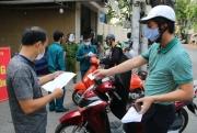 Hà Nội: Tăng cường kiểm soát tại các chốt, kiên quyết xử lý người vi phạm