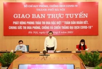 Hà Nội: Đẩy mạnh phong trào thi đua phòng, chống và chiến thắng đại dịch Covid-19