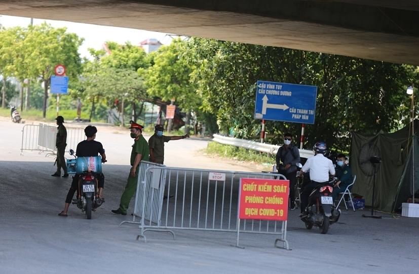 Kiểm soát gần 30.000 lượt người ra vào cửa ngõ Thủ đô