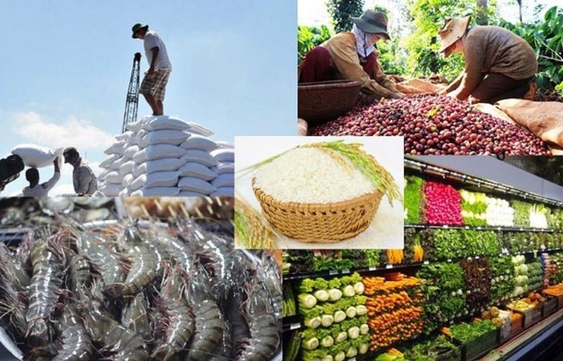 Kim ngạch xuất khẩu nông lâm thủy sản ước đạt 35,5 tỷ USD