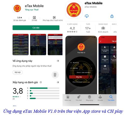 Triển khai ứng dụng thuế điện tử eTax Mobile