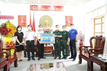 """Nét đẹp """"Văn hóa Dầu khí"""" tại Lữ đoàn 125 Hải quân"""