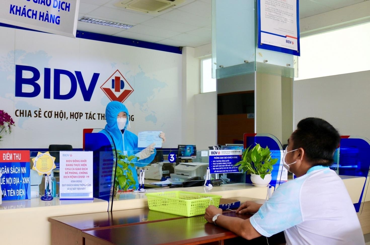 """BIDV triển khai dịch vụ đặc biệt """"Đồng hành cùng ngành y, chung tay vượt đại dịch"""""""