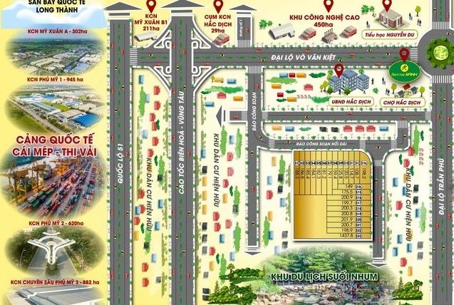 Bà Rịa - Vũng Tàu: Rà soát loạt dự án liên quan đến Công ty Vạn Tín Phát, thu hồi dự án 100ha của Busadco
