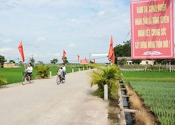 Nợ đọng trong xây dựng nông thôn mới đã được xử lý dứt điểm