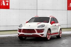 'Chất' như Porsche Cayenne phiên bản độ Rồng đỏ