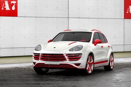 """""""Chất"""" như Porsche Cayenne phiên bản độ Rồng đỏ"""