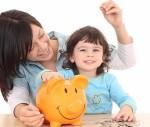 Giật mình khi bé phân biệt 'tiền mẹ', 'tiền con'