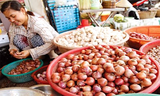 Cà rốt, Long Biên, gia vị, hành, tỏi, Trung Quốc, chợ đầu mối, chợ lẻ, tiểu thương