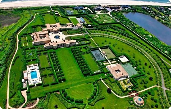 Top 10 ngôi nhà đắt nhất thế giới