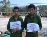 Cõng 670kg thuốc bom từ Lào về Việt Nam