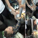 Cộng đồng mạng lên án cô gái xinh đẹp không nhường ghế xe bus cho em bé 2 tuổi