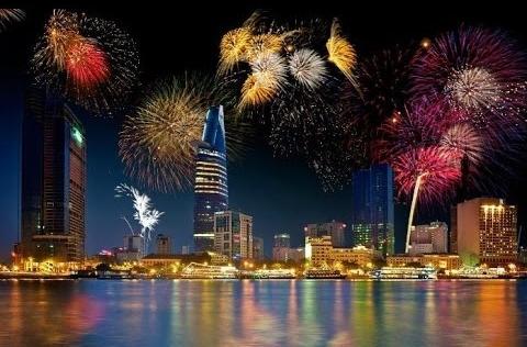 Những điểm bắn pháo hoa dịp lễ 30/4 tại Hà Nội - Đà Nẵng - TP HCM