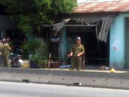Bình Dương: Nghi án gài mìn trước cửa quán cà phê