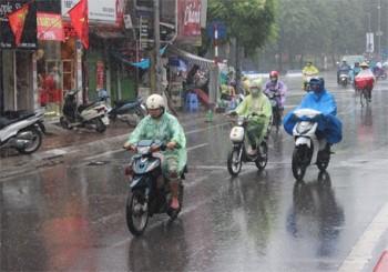 Miền Bắc có mưa dông
