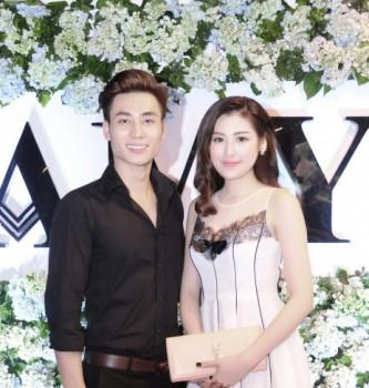 Dương Tú Anh sánh vai cùng siêu mẫu Mai Tuấn Anh dự sự kiện