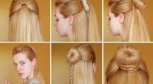 9 kiểu tóc tuyệt đẹp chỉ tốn vài phút để thực hiện