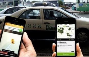 taxi truyen thong va cuoc dau voi grab uber lien ket de khong bi ngui khoi
