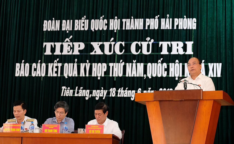thu tuong phai lap lai trat tu bao dam an ninh an toan cho xa hoi