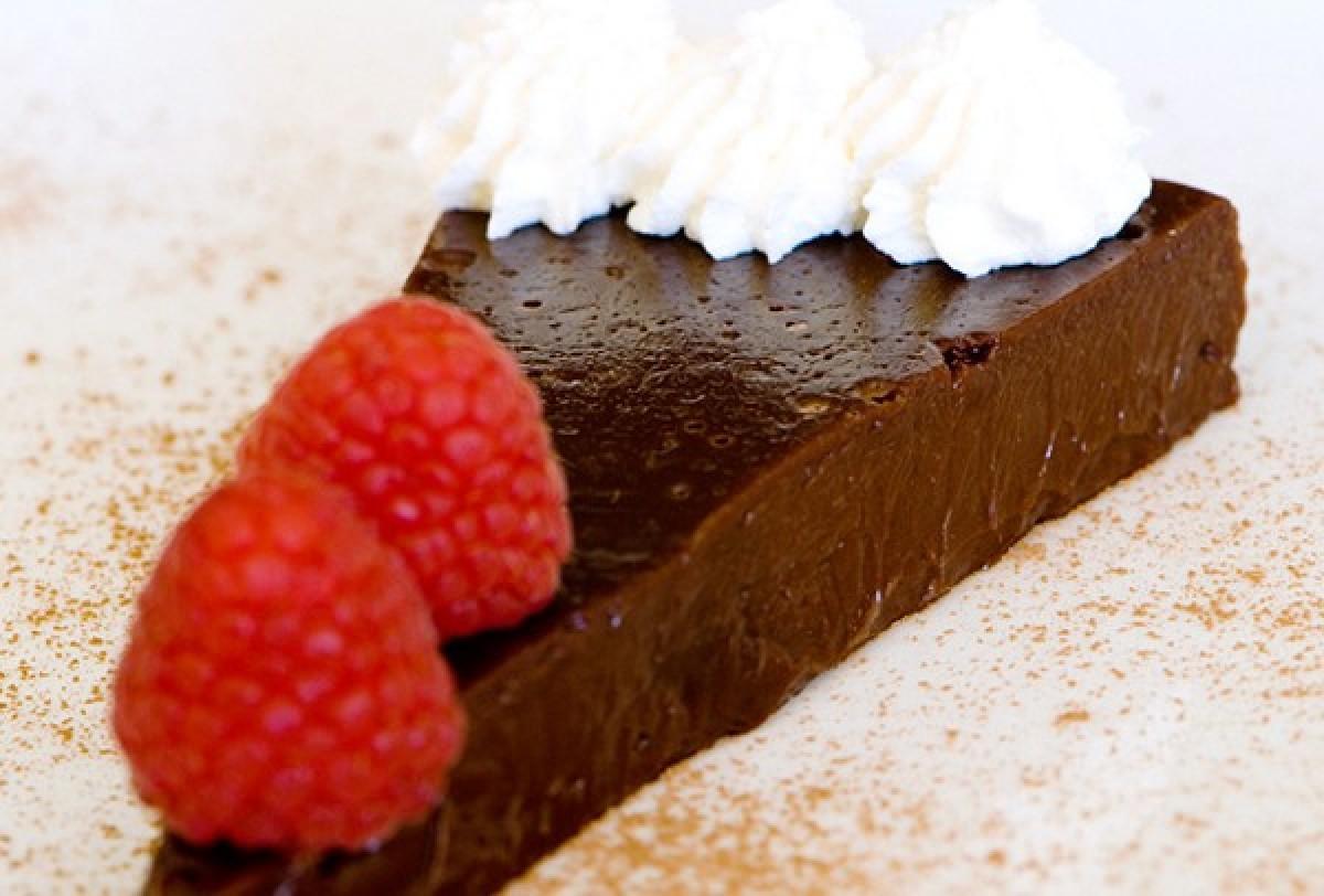 Truffle chocolate không cần bột