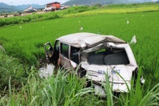Nghệ An: Xe tải gây tai nạn, 5 người thương vong