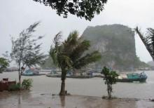 Bão số 1 cách bờ biển Thái Bình - Ninh Bình 120km