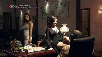 dan dien vien quynh bup be len tieng truoc thong tin phim ngung phat song
