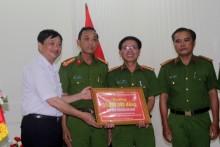 Khen thưởng Công an TP Đà Nẵng phá vụ 'siêu trộm'