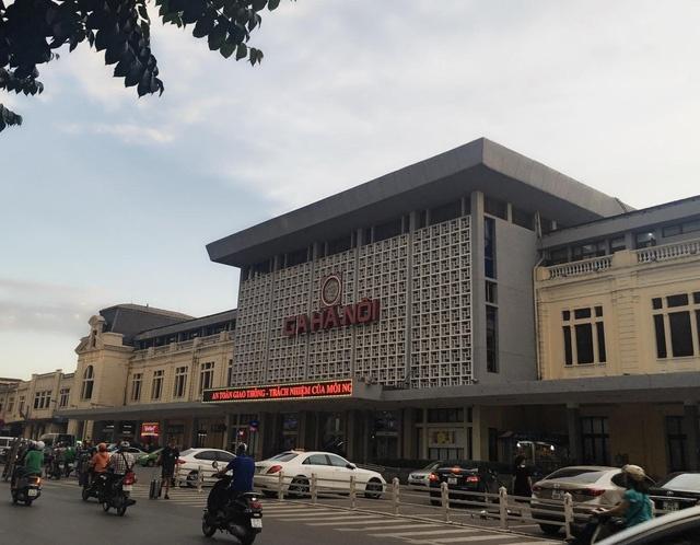 Bộ GTVT chưa nhận được đề xuất xây cao ốc 40-70 tầng khu ga Hà Nội