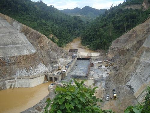 Phát điện tổ máy số 2 thuỷ điện Sông Bung 4