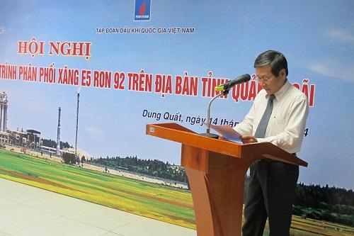 Tổng kết lộ trình phân phối xăng E5 RON 92 trên địa bàn tỉnh Quảng Ngãi