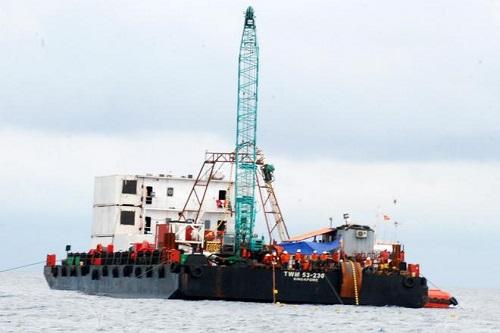 Cáp ngầm xuyên biển ra đảo Lý Sơn vẫn an toàn