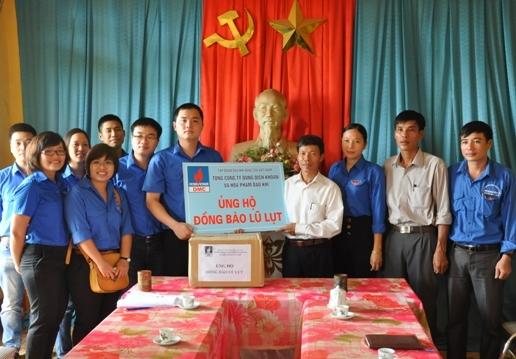 Đoàn Thanh niên DMC ủng hộ nhân dân vùng lũ Thanh Hóa