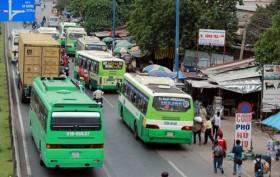TP HCM: Giữ xe miễn phí cho khách đi xe buýt