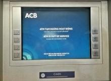 Các trụ ATM đồng loạt nghỉ tết