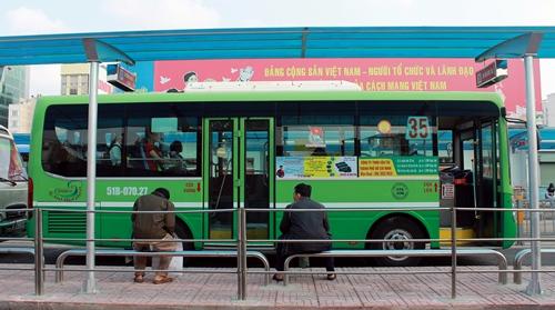 Quảng cáo trên xe buýt sẽ giảm gánh nặng trợ giá