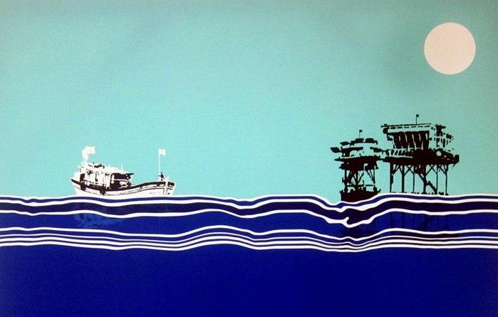 Ấn tượng những tác phẩm mỹ thuật về biên giới, biển đảo