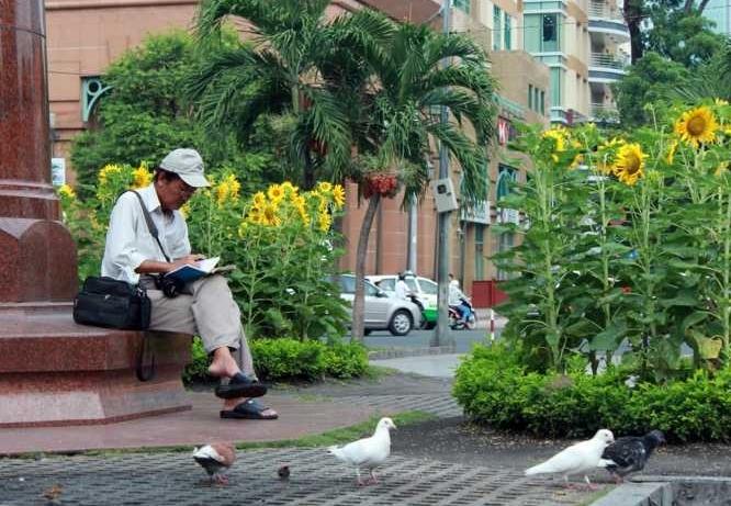 Sài Gòn - bình yên trong ngày chiến thắng